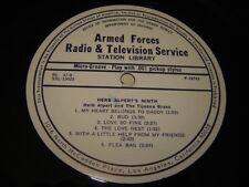 AFRTS RL 47-8 Armed Forces Radio LP Herb Alpert's Ninth, Engelbert Humperdinck