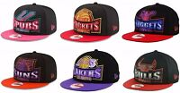 New Era Authentic NBA 9FIFTY 950 Metallic Grader Snapback Adjustable Fit Hat Cap