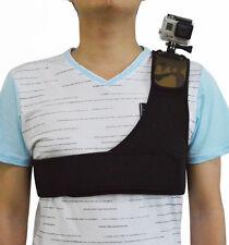 Montaje de cámara de una sola Correa de Hombro Pecho De Cinturón Arnés Para Gopro 1 2 3 3+4 5 6