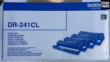 More details for genuine brother dr-241cl laser drum 4-pack (c/y/m sealed, k open ) vat invoice