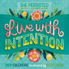 2021 Live with Intention 16-Month Monthly View Wall Calendar, 12