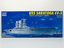 Flugzeugträger CV-3 Saratoga,US Navy,Carrier,WW II,Trumpeter,05738, 1:700,NEU