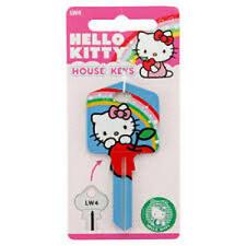 Hello Kitty Keyblank-Lockwood, House Key, Key blank-FREE POSTAGE