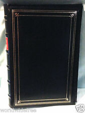 Pioneer BTA-204 Blue Bonded Leather 3 Ring Photo Album, BINDER ONLY-no pages