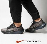 Nike Zoom Gravity Black Gray Clear Men's Running Sneakers BQ3202 size 10 11 12