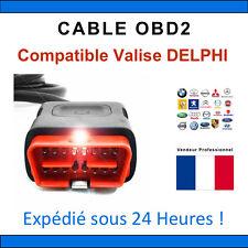 Câble de remplacement OBD2 - Compatible avec DELPHI / DS150 DS100