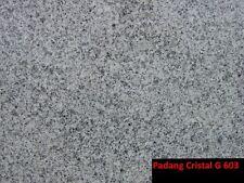 Granit Platten Fliesen grauweiß G 603 Padang dunkel, G 682 gelb Frostbeständig