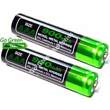 2 x Lloytron AAA 900 mAh Rechargeable Batteries, Cordless Phone 1.2V NiMH HR03