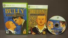 BULLY Scholarship  -  Microsoft Xbox 360 Complete Tested 1 Owner Near Mint Disc