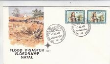 South Africa 1988 Natal Flood Disaster FDC Unaddressed VGC