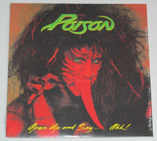 POISON-OPEN UP AND SAY...AHH!-CAPITOL B0027945-01-BRET MICHAELS-SEALED-NEW-LP