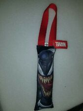 NWT Marvel Comics VENOM Squeaky Dog pull Toy By Buckle Down Comic art image