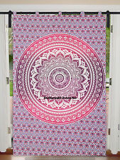 Mandala Room Decor Window Wall Hanging Curtain Balcony Drapery Indian Curtains
