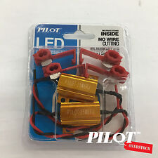 Pilot Automotive LED Load Resistors Eliminates Fast Blink SELLER FAST SHIPPING