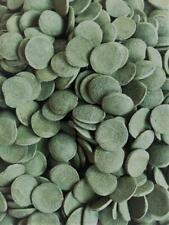 "New listing 2 Lbs Spirulina Algae Wafers Disc In Bulk - 12 Mm / 1/2"" Size - Sinking! Sale!"