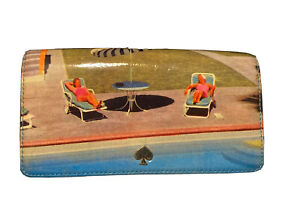 Kate Spade All In A Days Work Shannon Wallet Clutch- ULTRA RARE FIND