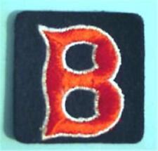 "Boston Red Sox ""B"" Baseball Cloth Patch 2"" Square"