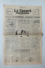 ANCIEN JOURNAL -  LE CANARD ENCHAINE N° 1591 DU 18 AVRIL 1951 *