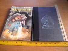 Orbiter TPB HBDJ Warren Ellis Vertigo comic signed Colleen Doran w/sketch