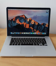 Apple Macbook Pro Retina, 15-inch, Mid 2015, i7 2.5GHz, 16GB RAM, 251GB SSD