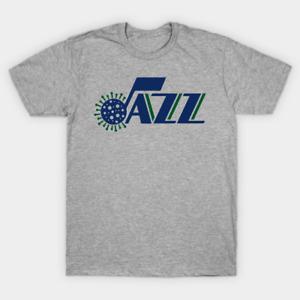 Jazzy Virus T-Shirt Utah Jazz Fan Gift Funny Vintage Gift For Men NBA Basketball