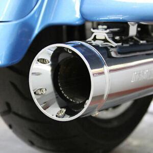 "Supertrapp Kerker 4"" Slip On Ons Mufflers Exhaust Pipes 2010-2016 Harley Touring"