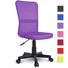 TRESKO Silla de Oficina Giratoria 44x48x98cm - Púrpura