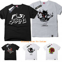 Persona 5 P5 Anime T-Shirt Men Women Casual Cotton Tshirt Tee Tops