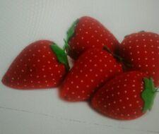 Strawberry Needle Cushion/ One Needle