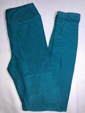 LuLaRoe Kids Leggings S//M NWT Solid Neon Blue Fits 2-8