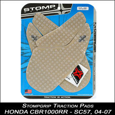 Stompgrip Traction Pads Honda CBR 1000RR SC57 04-07 Clear tankpad 55-10-0016