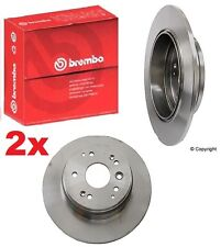 Set of  2-Brembo Rear Brake Rotors  Acura TL Base & Honda Element