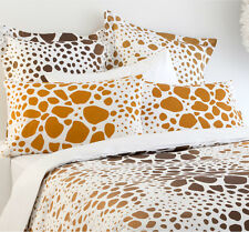 5 Pce SAFARI Animal Print Brown KING Quilt Doona Cover Set 100% COTTON 300TC