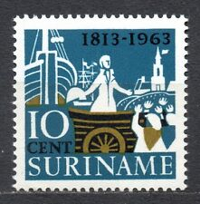 Suriname - 1963 150 years independence the Netherlands Mi. 440 MNH