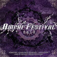Amphi Festival 2012 CD BlutEngel project pitchfork Combichrist