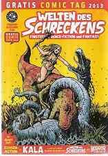 Comic - Vom Gratis Comic Tag 2013 - Welt des Schreckens -  deutsch