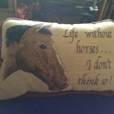 Horse Throw Pillow #2