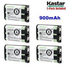 5xKastar Cordless Phone Battery NI-MH 3.6V 900mAh For Panasonic HHR-P107 Type 35