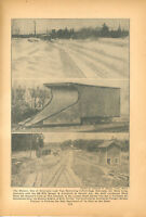 1940 Monson Railroad Maine 2 Foot Narrow Gauge Railway Snowplow ME