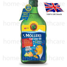 MOLLER'S Mollers Fish Oil OMEGA-3 -FRUIT TASTE Tutti Frutti - Children & Adults