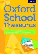 Oxford School Thesaurus by Oxford University Press (Mixed media product, 2016)