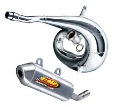FMF exhaust system - Gnarly Pipe & shorty silencer - 2004-2008 Suzuki RM250