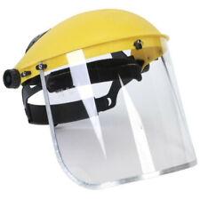 Protective Safety PVC Clear Head-mounted Face Eye Shield Screen Grinding