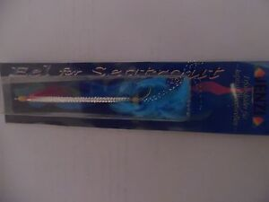 Eel for Seatrout Sandaalimitat für Meerforellen Spirolino von JENZI 10 cm blau