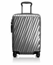 NEW Tumi International Carry-on 19 Degree Polycarbonate 4-Wheel Spinner, Silver