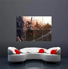 XBOX ONE PS3 PS4 PC GAME TOMB RAIDER LARA CROFT GIANT ART PRINT POSTER OZ1259