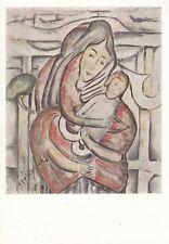 Post Card-Polish tipo (3)/Tytus czyzewski Madonna