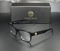 VERSACE VE3266 GB1 Black Demo Lens 55 mm Men's Eyeglasses