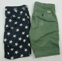 Lot of 2 Denim & Supply Ralph Lauren Men's Shorts USA Merica Size 31