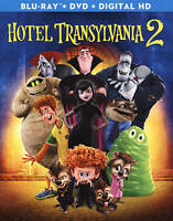 HOTEL TRANSYLVANIA 2(BLU-RAY+DVD+DIGITAL HD)NEW UNOPENED